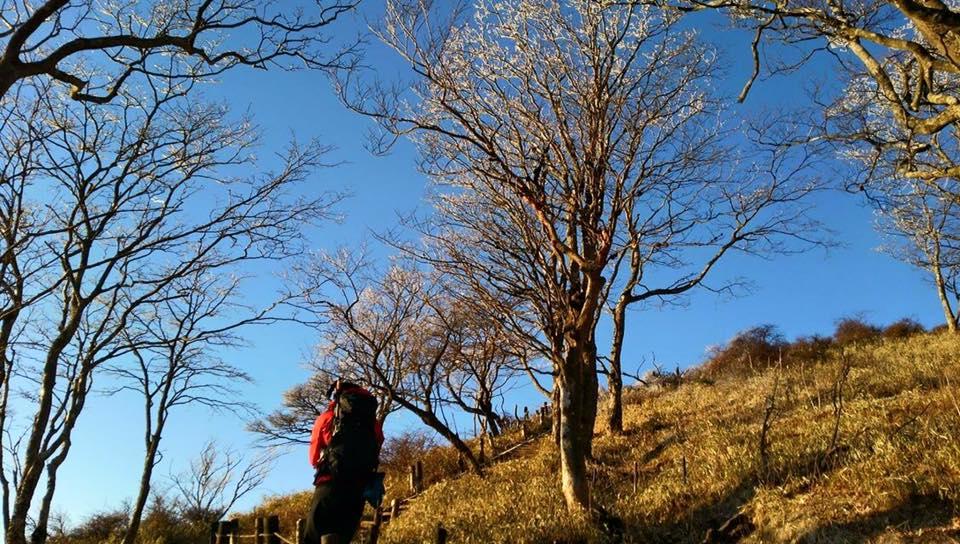 アキラのソトアソビ 登山シーン