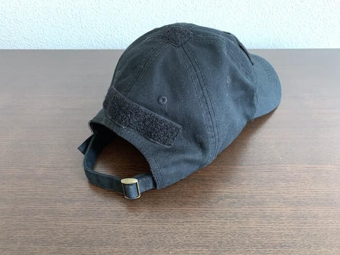 ワッペンベースのついた 帽子 キャップ