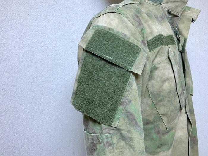 軍隊 戦闘服 ワッペンベース