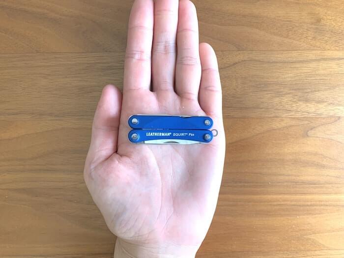 レザーマン スクォートPS4 手のひらサイズ