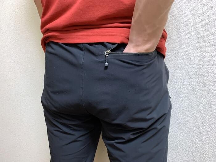 トレッキングパンツ ノースフェイス バーブパンツ 背面ポケット