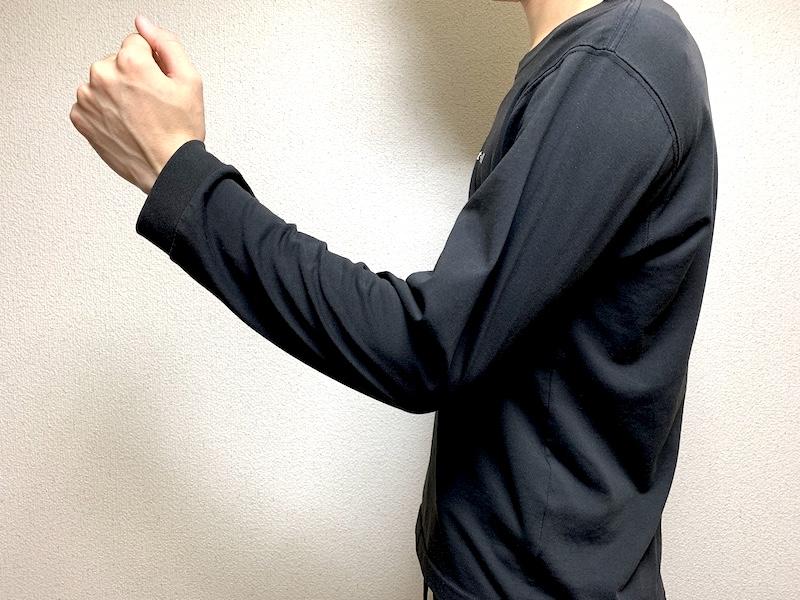 脱臼 手術 体験談 腕の可動域2