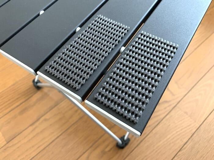 Linkax アルミ製アウトドアテーブル 滑り止めをつけた