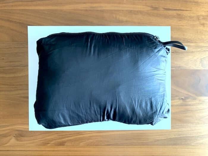 パタゴニア ナノパフジャケット レビュー 収納サイズ2