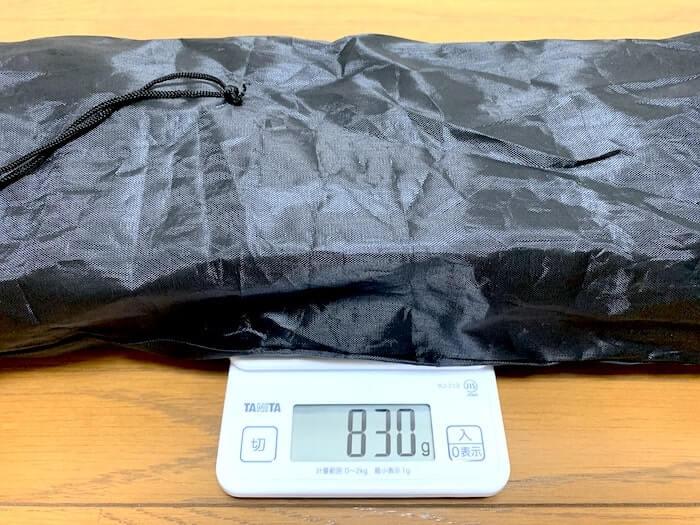 Linkax アルミ製 アウトドアテーブル 重量