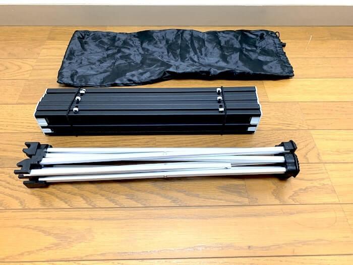 Linkax アルミ製アウトドアテーブル 付属品