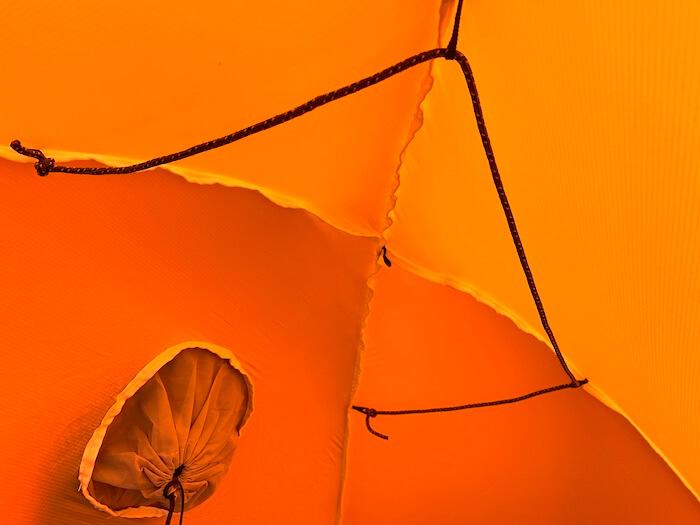 テント カスタム 物干し紐