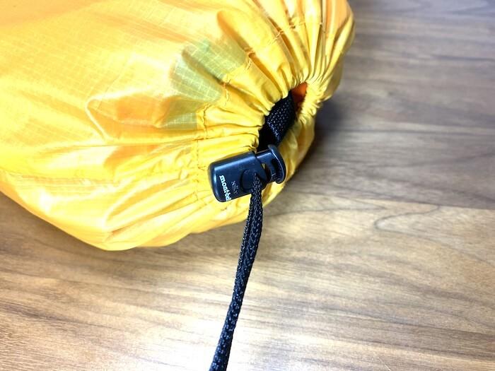 テント 改造 コードロックあり