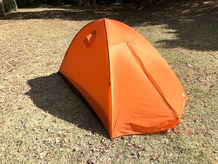 登山 テント エアライズ2
