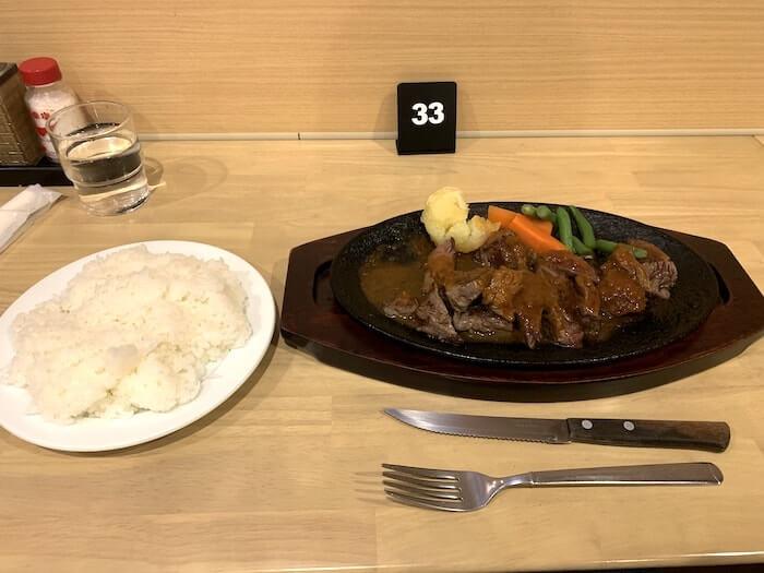 ステーキハウス タワラ 用田店 ステーキ