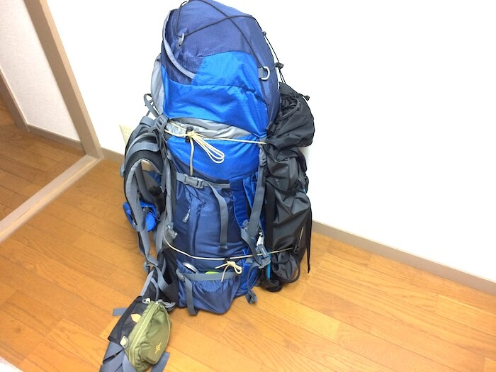 EXPED シンマット ウィンターライトを導入した後