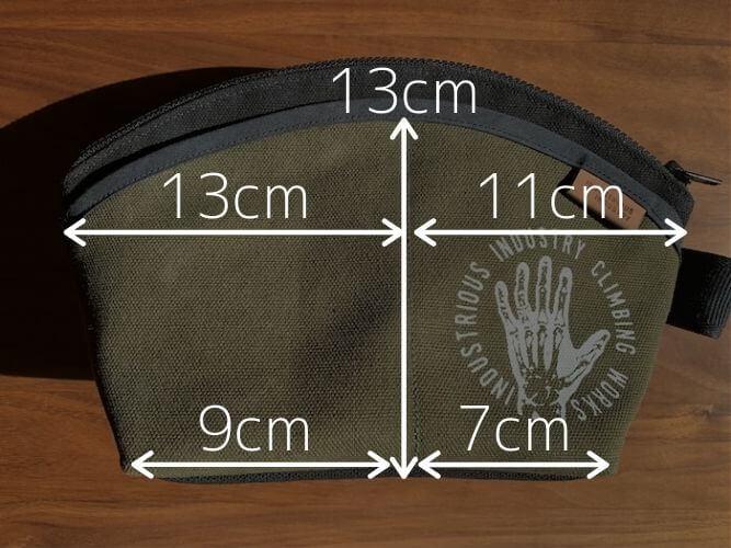 チョークバック インダストリアスインダストリー SheLL  ポケットサイズ