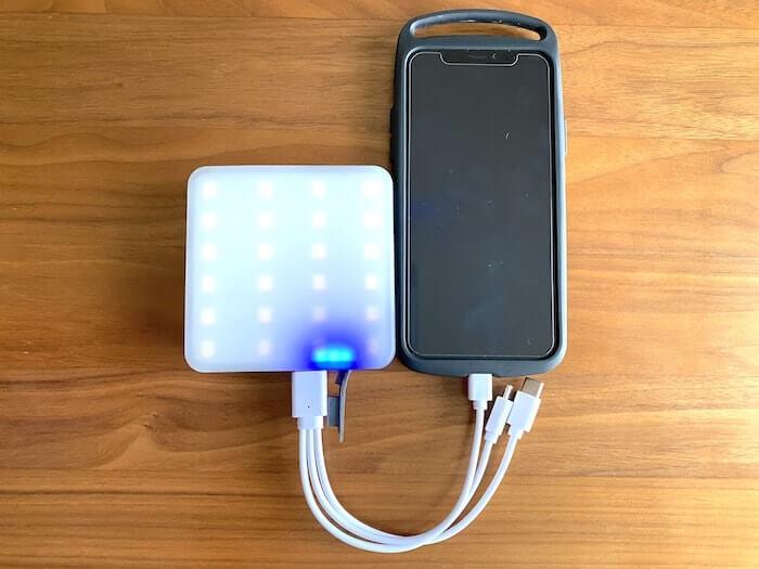 【Naturehike】多機能LEDライト 1300LM モバイルバッテリー