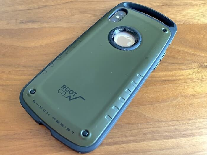ROOT CO. GRAVITY Shock Resist Case Pro. レビュー 外観6