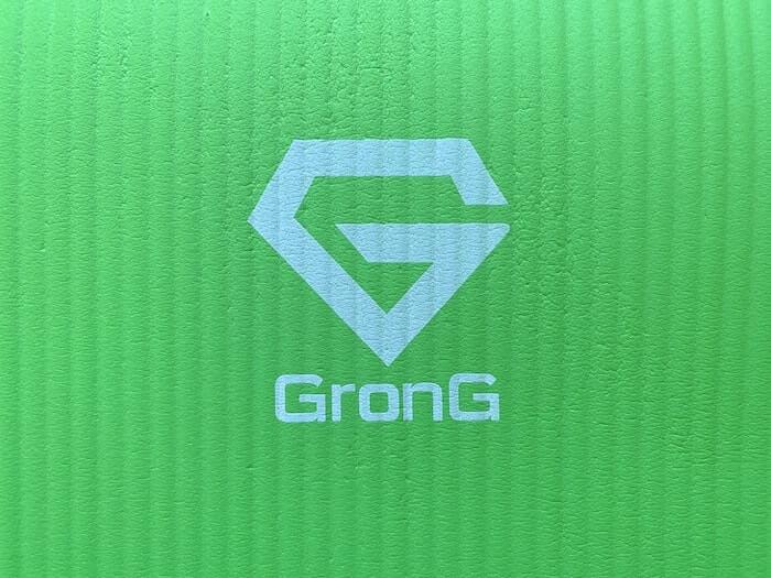 クライミング ボルダリング ボディケア用品 グロング ヨガマット ロゴ