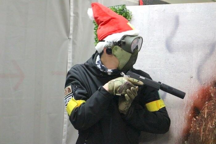 アキラのソトアソビ クリスマスサバゲー
