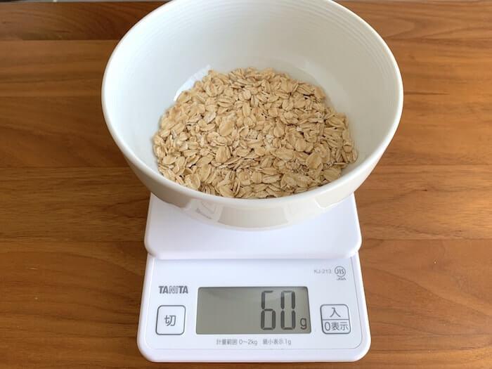 クライミング 食事術 オートミール レシピ 1