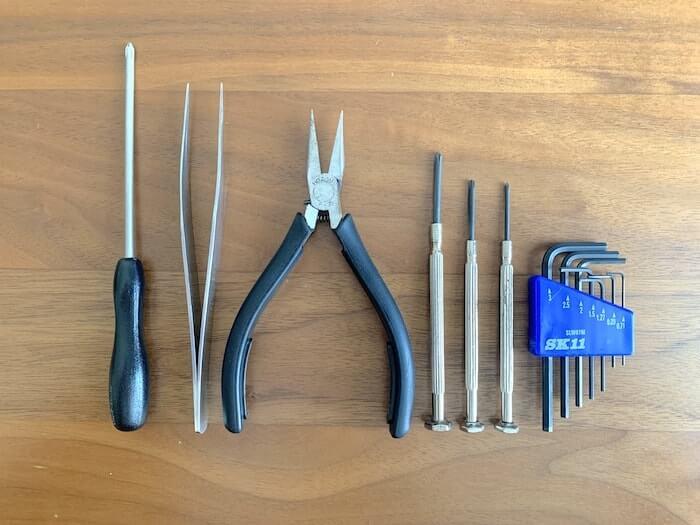 ハイキャパE カスタム 工具一覧