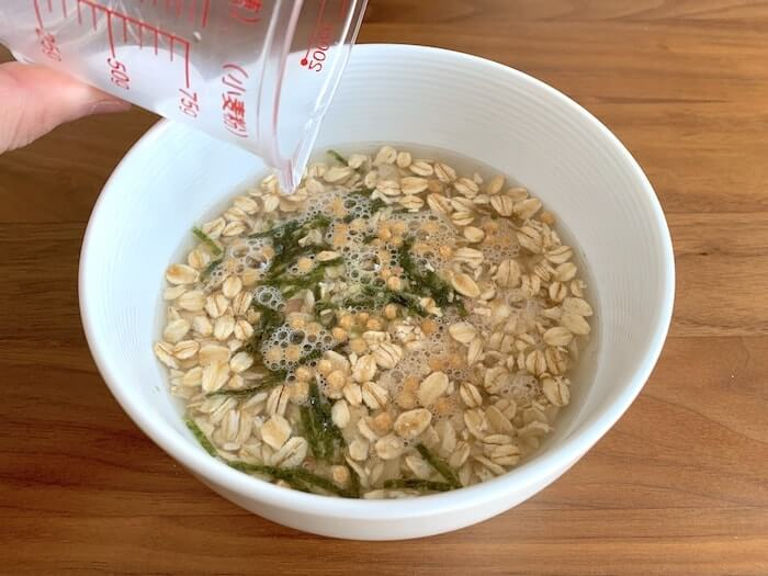 クライミング 食事術 オートミール レシピ 5