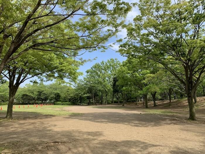 舞岡公園 メイン広場