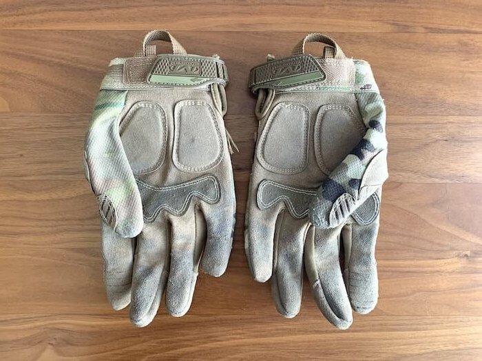 メカニクスウェア M-PACTグローブ マルチカム 手袋部