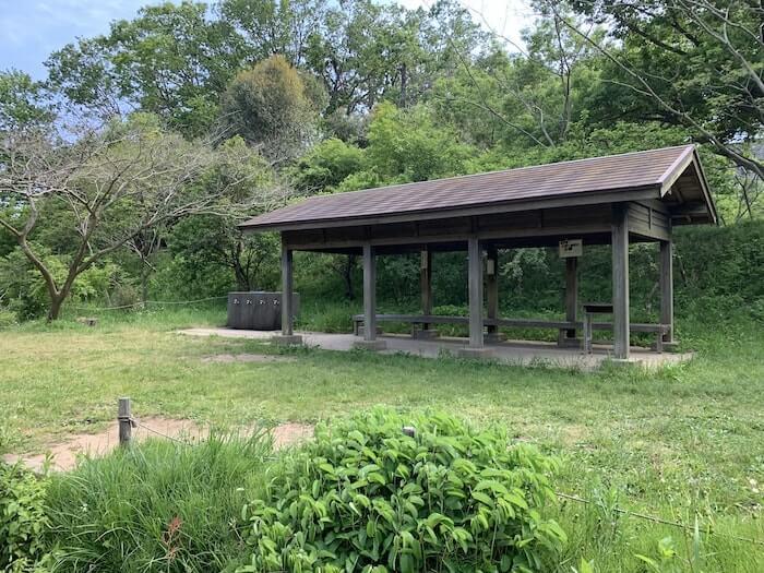 舞岡公園 休憩スペース