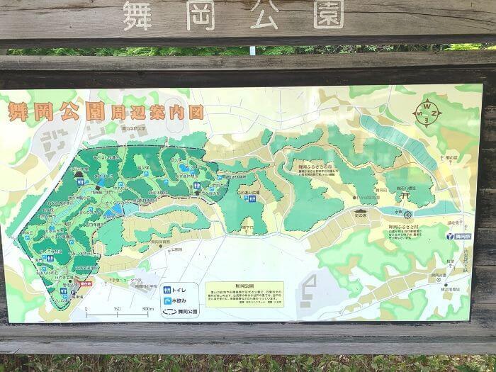 舞岡公園 地図1