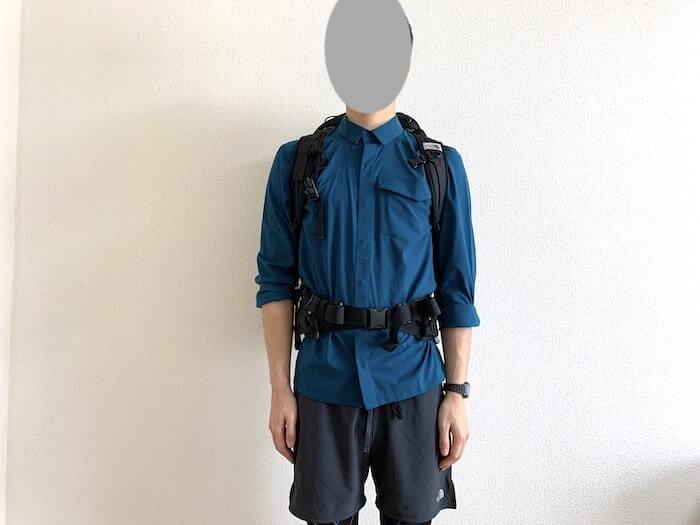 筆者の登山ファッション