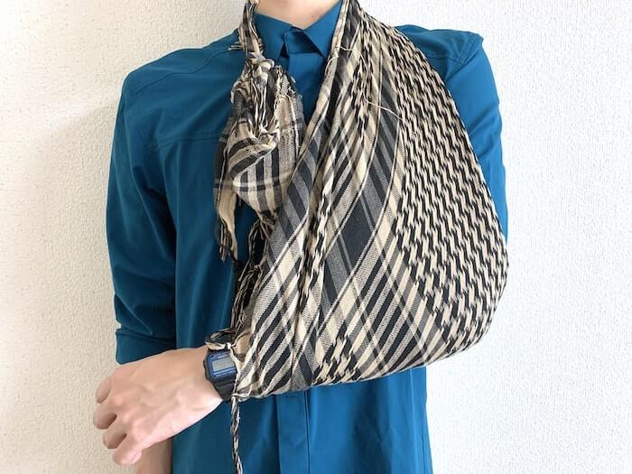 登山 シュマグ 三角巾