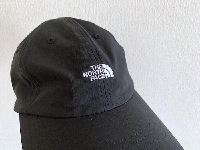 ノースフェイス MAアクティブライトキャップ レビュー ロゴ