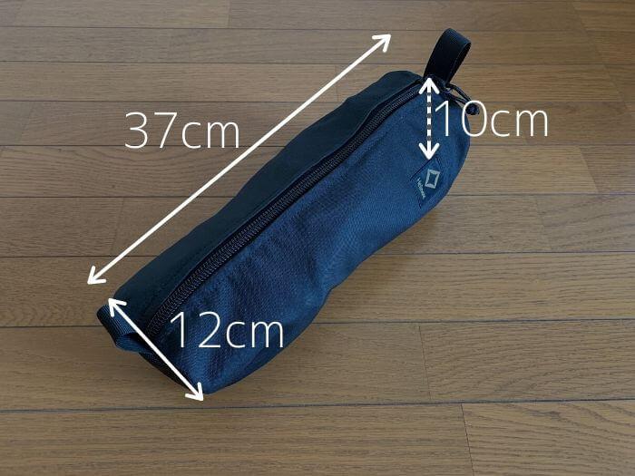 ヘリノックス タクティカルチェア 収納袋のサイズ