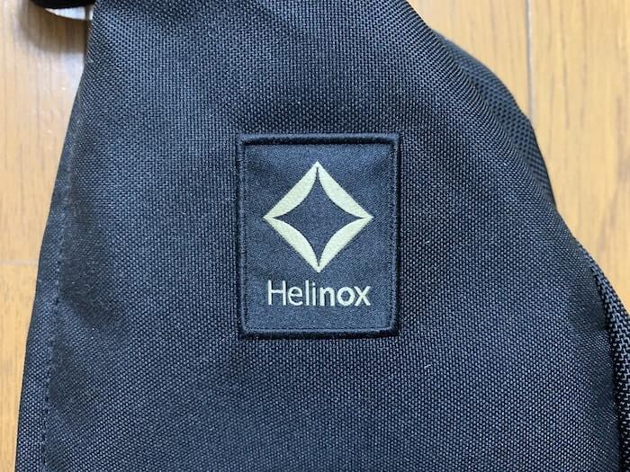 ヘリノックス タクティカルチェア ロゴ