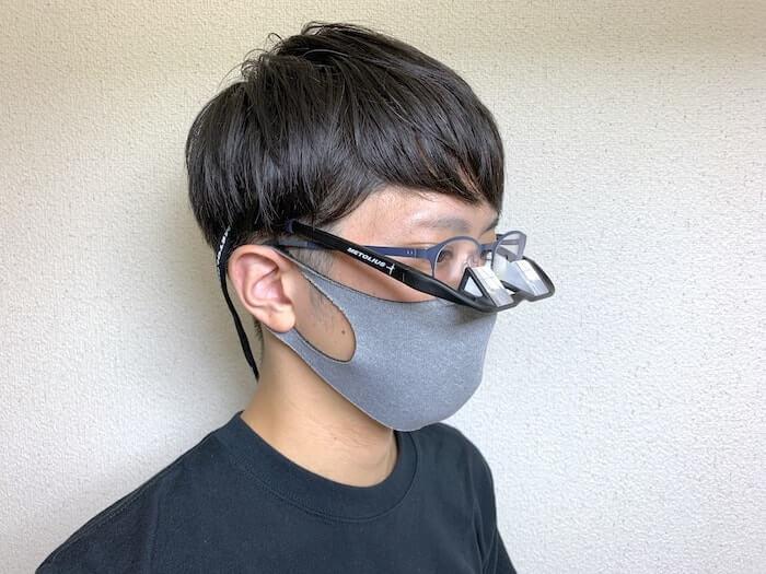 メトリウス アップショットビレイグラス 使用レビュー メガネをしててもOK