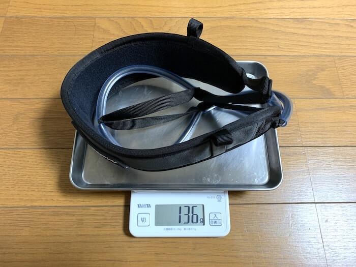 メトリウスのギアラック、マルチループギアスリング 重さ