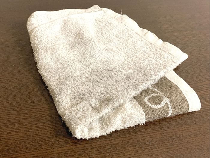 外岩の持ち物 雑巾