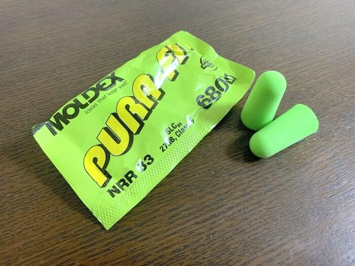 最強の耳栓 MOLDEX Pura-Fit 6800 外観