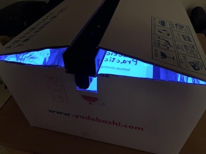 シルクスクリーン道具 自作露光機 ブラックライト使用