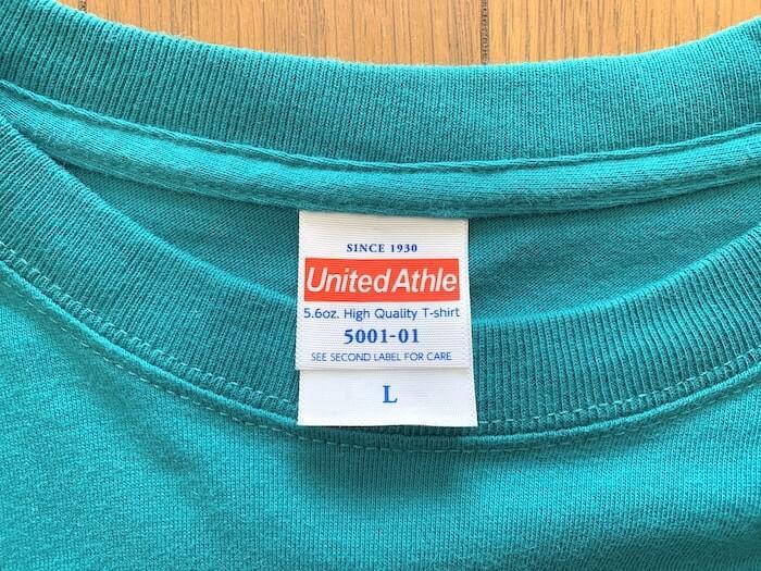 シルクスクリーン道具 ユナイテッドアスレのTシャツ