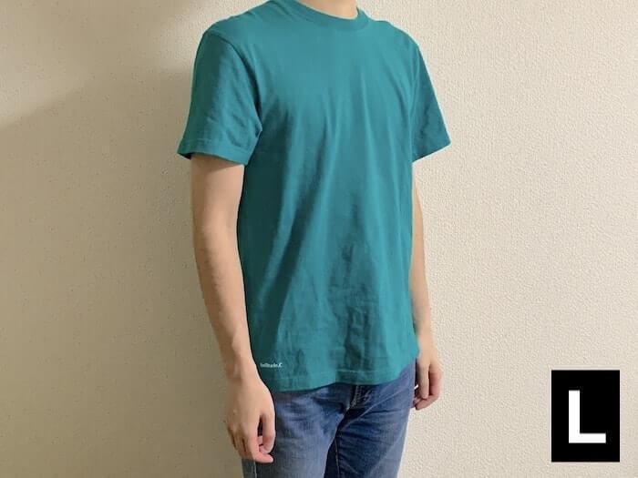 ユナイテッドアスレ 5.6ozハイクオリティーTシャツ Lサイズ 外観