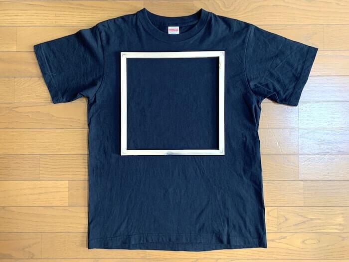 Tシャツくん ミドルフレーム プリントサイズイメージ1