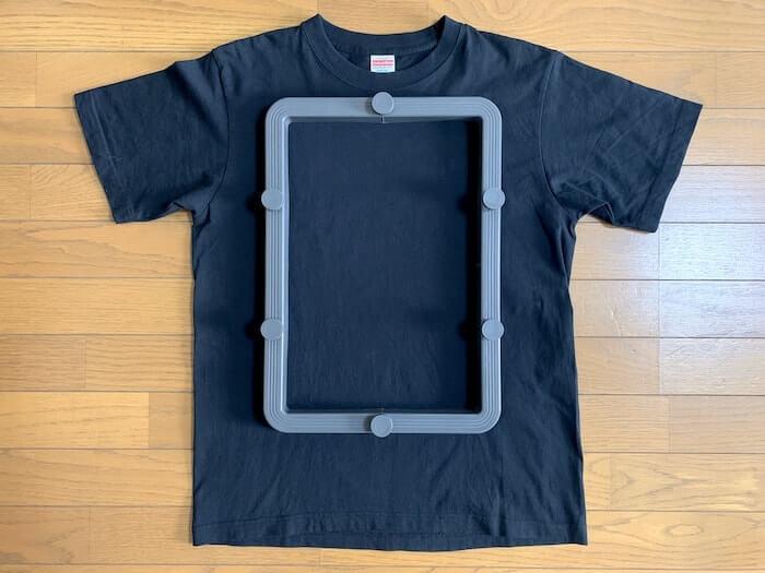 Tシャツくん ワイドフレーム 内寸イメージ1