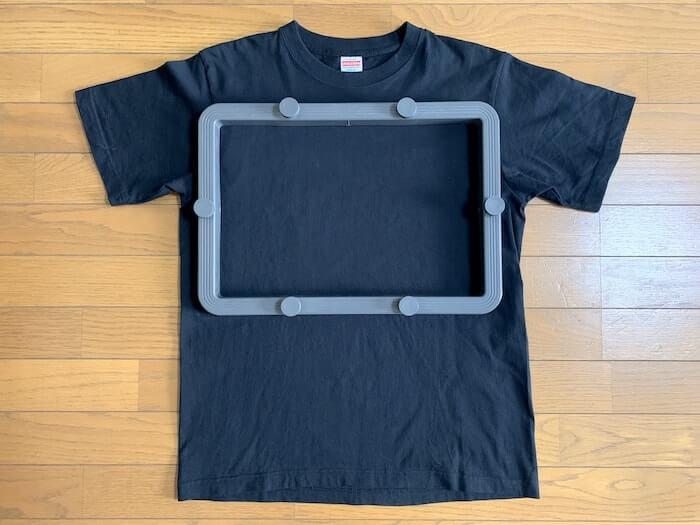 Tシャツくん ワイドフレーム 内寸イメージ2