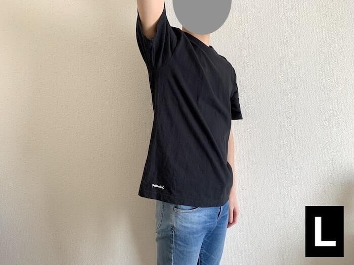 ユナイテッドアスレ 6.2ozプレミアムTシャツ Lサイズ 外観2