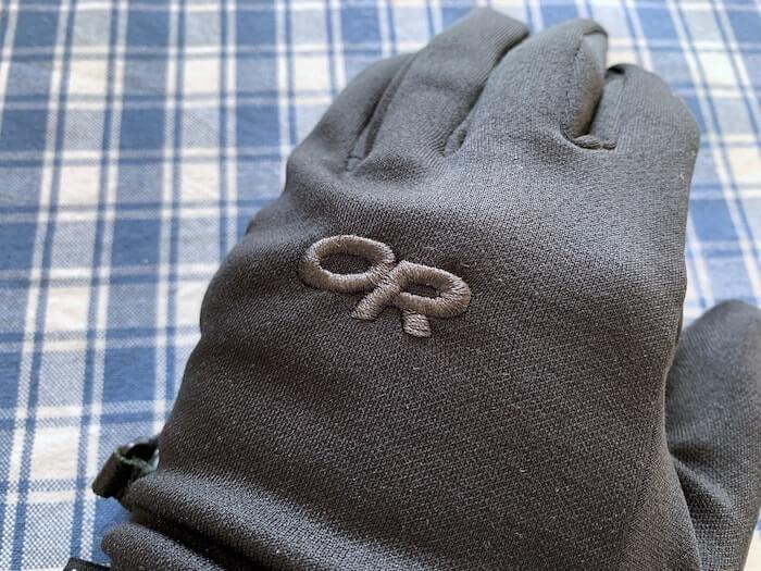 アウトドアリサーチ PL100 センサーグローブ ロゴ 刺繍