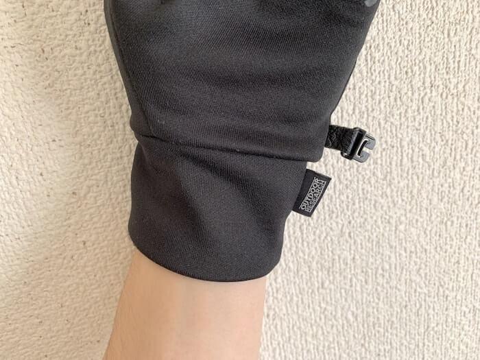 アウトドアリサーチ PL100 センサーグローブ 手首まで暖かい