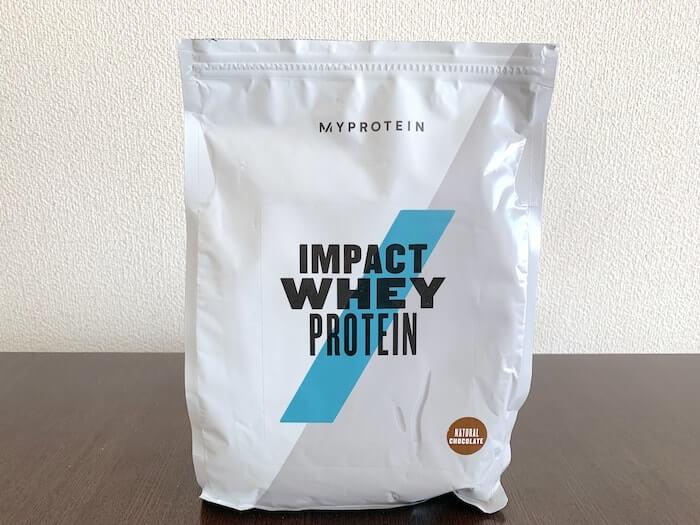 マイプロテイン ナチュラルチョコレート味 パッケージ
