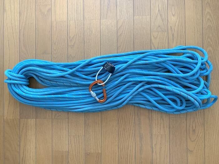 ブラックダイヤモンド ATC ロープとの画像 ロープ径