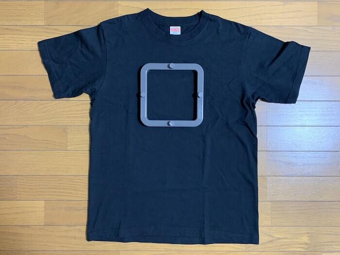 Tシャツくん スモールフレーム Tシャツ(Mサイズ)と比較