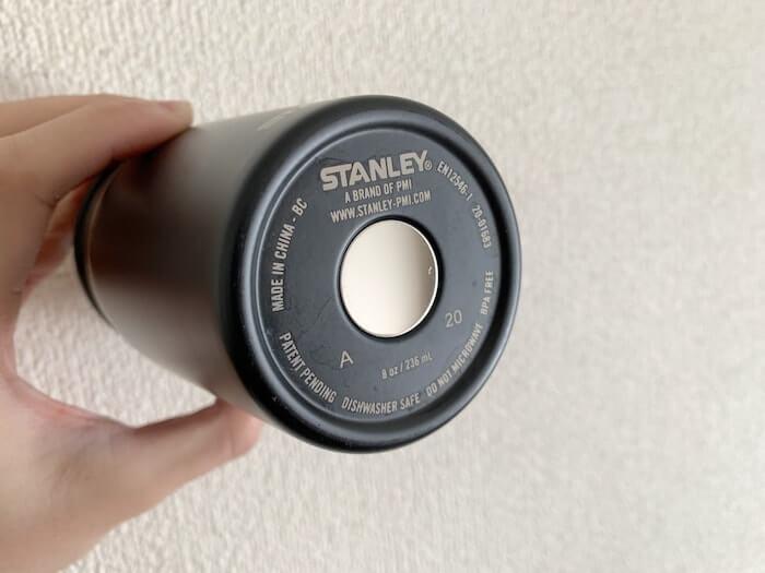 スタンレー 真空マグ 0.23L 底部